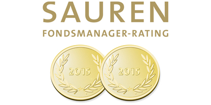 2 médailles d'or Sauren 2015 - Excellente Gestion Actions Europe
